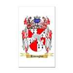 Rimington Rectangle Car Magnet