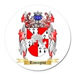 Rimington Round Car Magnet