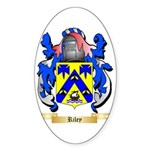 Riley Sticker (Oval 50 pk)
