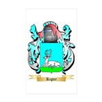 Rigter Sticker (Rectangle 10 pk)
