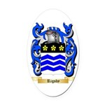 Rigsby Oval Car Magnet