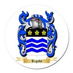 Rigsby Round Car Magnet