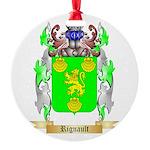 Rignault Round Ornament