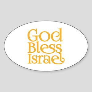 God Bless Israel Sticker