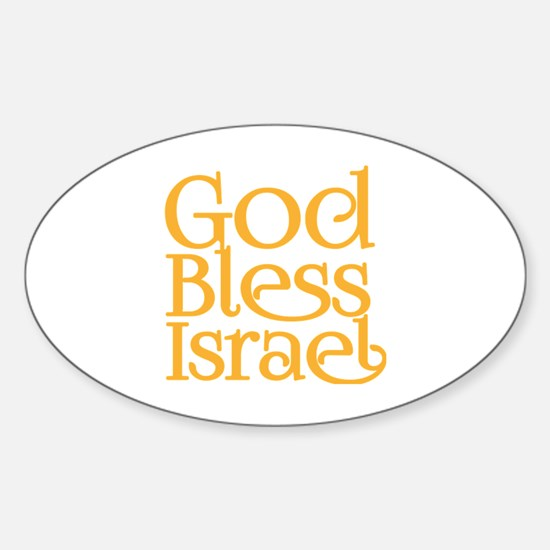 God Bless Israel Decal