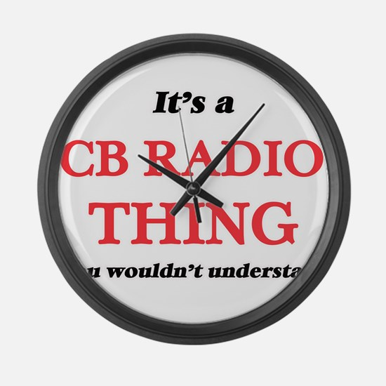 It's a Cb Radio thing, you wo Large Wall Clock