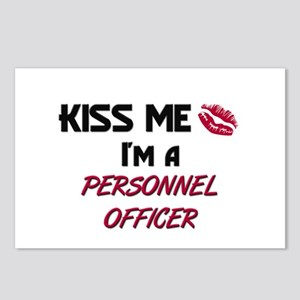 Kiss Me I'm a PERSONNEL OFFICER Postcards (Package