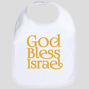 God Bless Israel Baby Bib