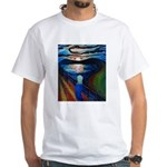 Gogh's Scream White T-Shirt
