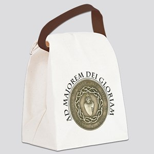 FOR THE GREATER GLORY OF GOD Canvas Lunch Bag