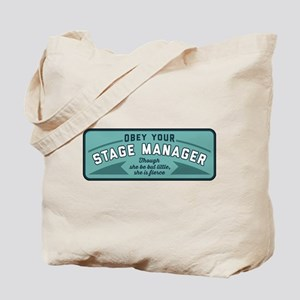 Obey Your Stage Manager Tote Bag
