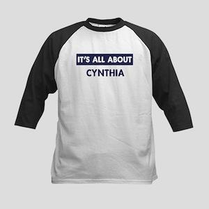 All about CYNTHIA Kids Baseball Jersey