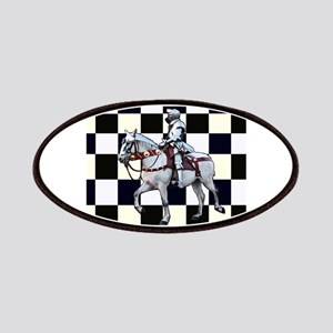 Knight on horseback with Chess board Patch