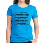 The Sixty Zone, 60th Women's Dark T-Shirt