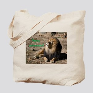 Resting lion Tote Bag