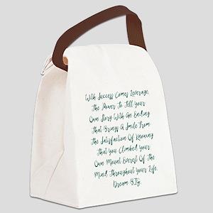 Leverage Canvas Lunch Bag