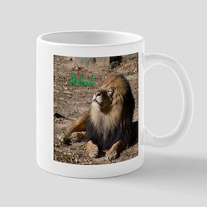 Resting lion Mugs