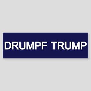 Drumpf Trump Bumper Sticker