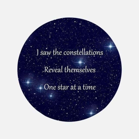 "Bobcaygeon Constellations 3.5"" Button"