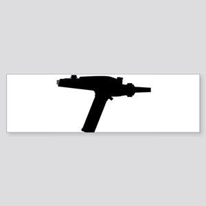 Ray Gun Silhouette Bumper Sticker