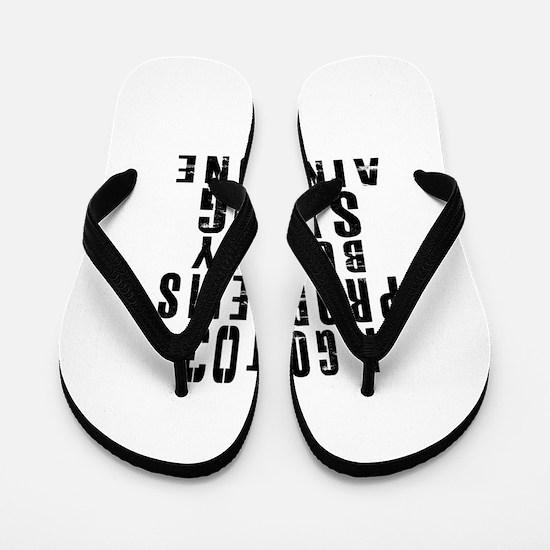 03 Swag Birthday Designs Flip Flops