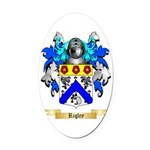 Rigley Oval Car Magnet