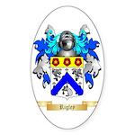 Rigley Sticker (Oval)