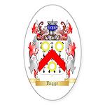 Rigge Sticker (Oval 50 pk)