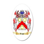 Rigge 20x12 Oval Wall Decal