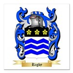 Rigby Square Car Magnet 3