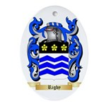 Rigby Oval Ornament