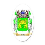 Rielle Oval Car Magnet