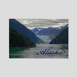 Alaskan Glacier Rectangle Magnet Magnets