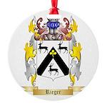 Rieger Round Ornament