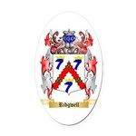 Ridgwell Oval Car Magnet