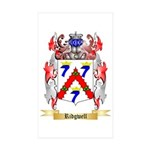 Ridgwell Sticker (Rectangle 50 pk)