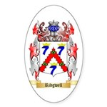 Ridgwell Sticker (Oval 50 pk)