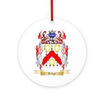 Ridge Round Ornament