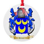 Rider Round Ornament