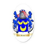 Rider Oval Car Magnet