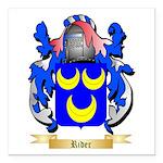 Rider Square Car Magnet 3