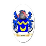 Rider 35x21 Oval Wall Decal