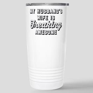 My Husband's Wife 16 oz Stainless Steel Travel Mug