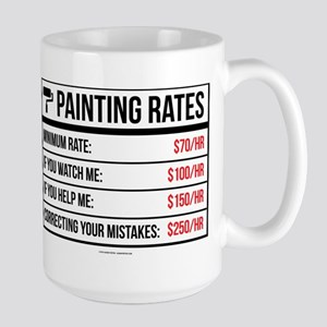 Funny Painting Rates Mugs