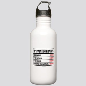 Funny Painting Rates Stainless Water Bottle 1.0L