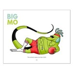 Big Mo & Whistle Small Poster