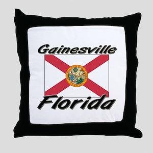 Gainesville Florida Throw Pillow