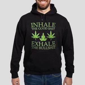 Yoga: Inhale the good shit Hoody