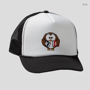 Studious Owl Kids Trucker hat