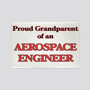 Proud Grandparent of a Aerospace Engineer Magnets